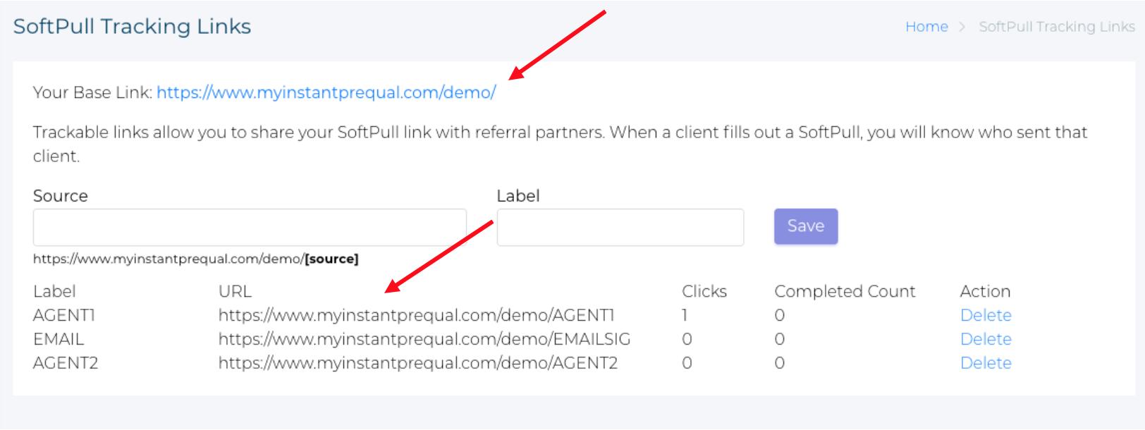 SoftPull find links